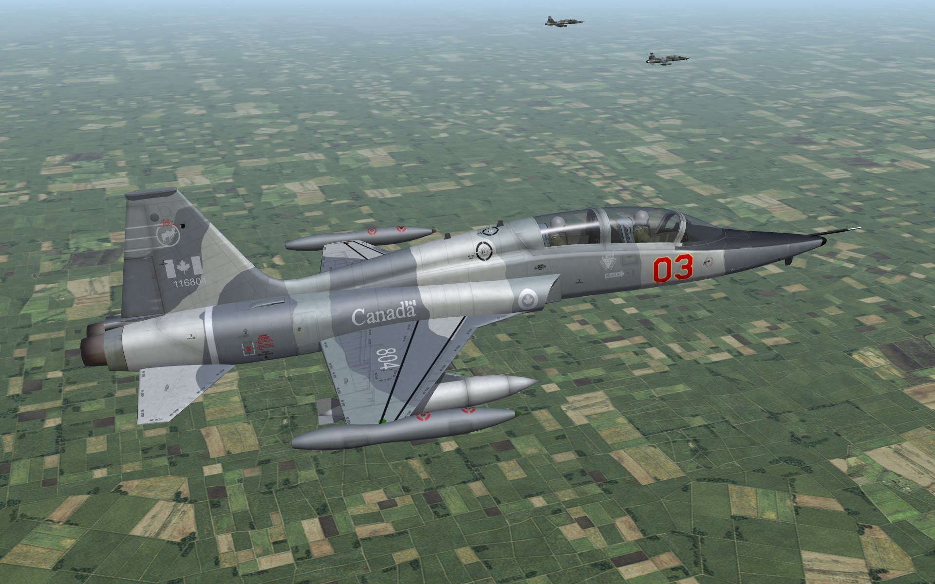 CF-116D Skin Pack 2 (Variagated and Agressor birds)
