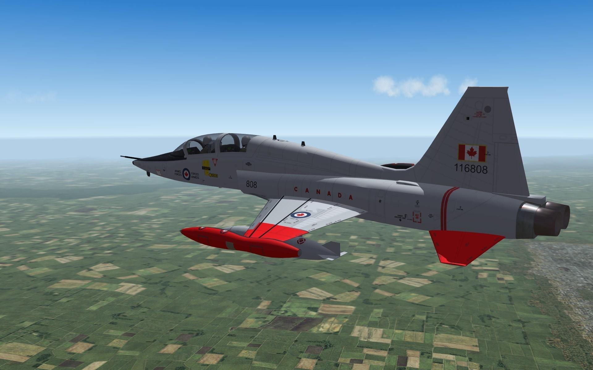 CF-116D Skin Pack 1 (Silver birds)