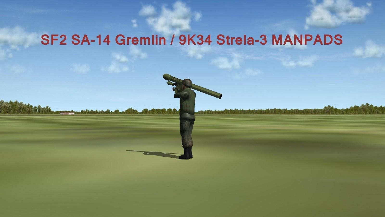 SA-14 Gremlin / 9K34 Strela-3 MANPADS Pack