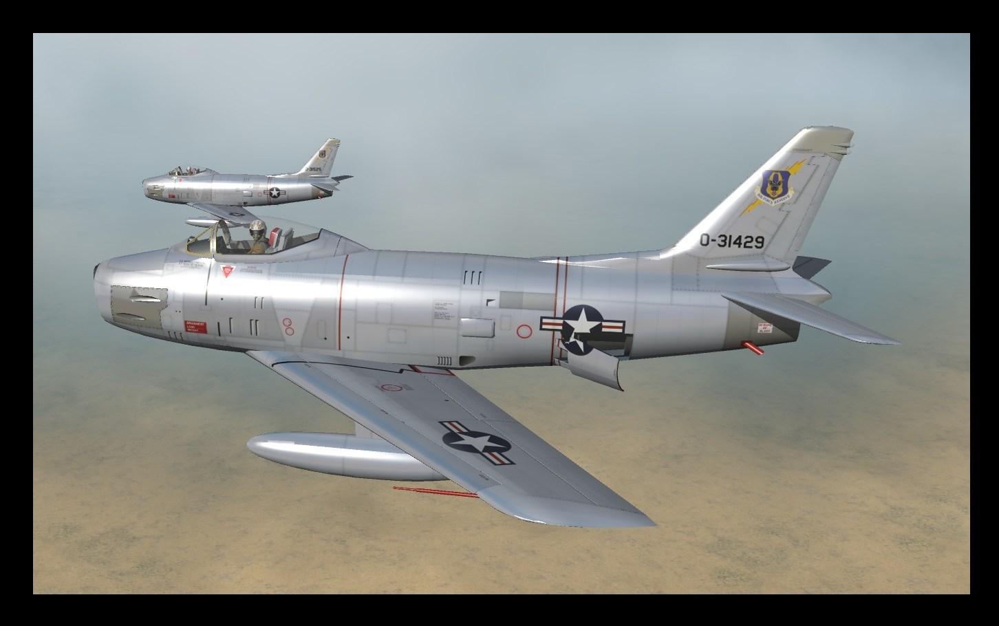 F-86H F-86H5 Skins 7z