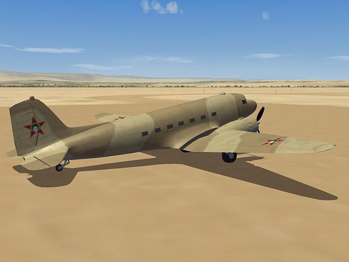 Mercenary Sand Skin for C-47A (fictional)