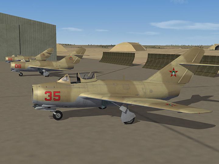 Mercenary Sand Skin for MiG-15bis (fictional)
