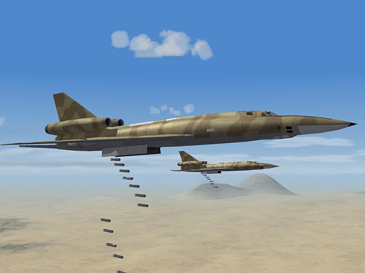Mercenary Sand Skin for Tu-22B Blinder-A (fictional)