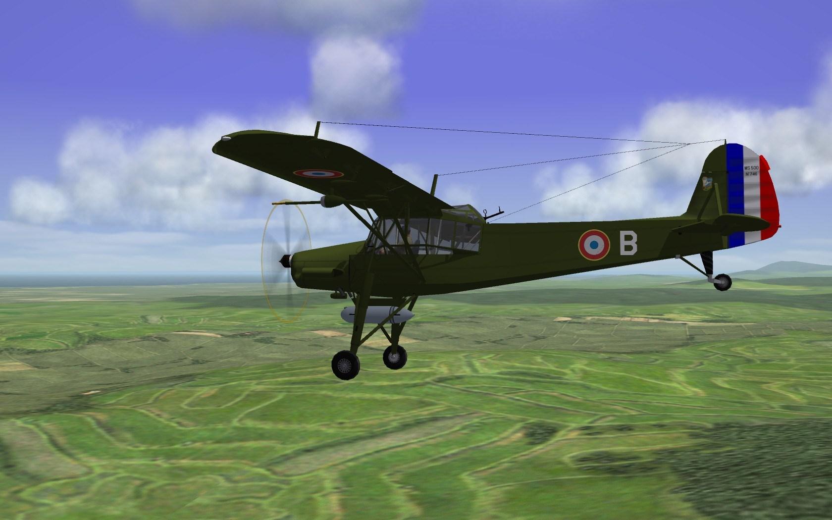 Morane-Saulnier Ms.500 Criquet