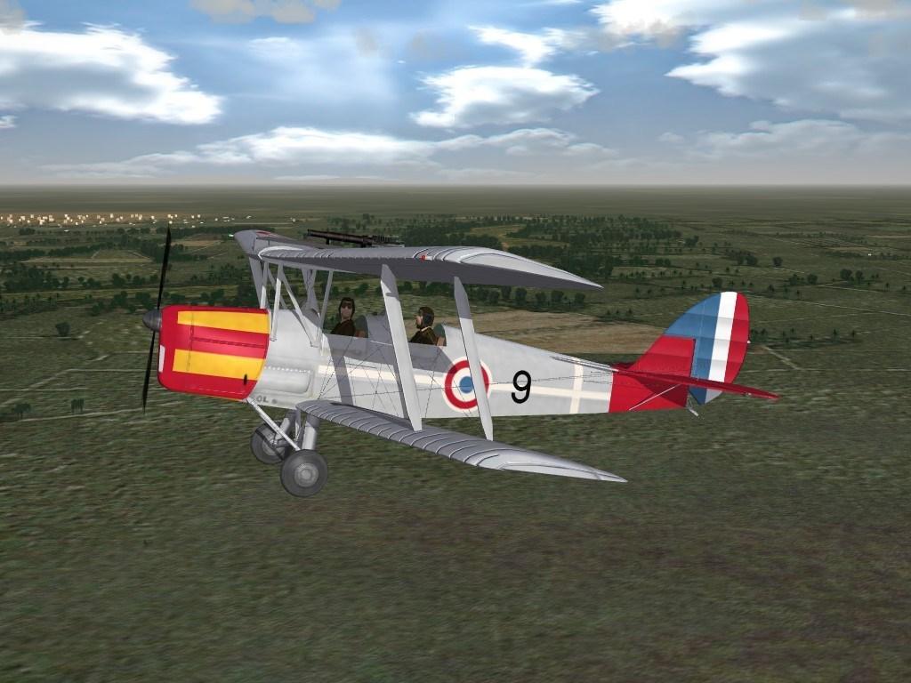 SF2 Vichy French Air Force, Tiger Moth Skin UPgrade