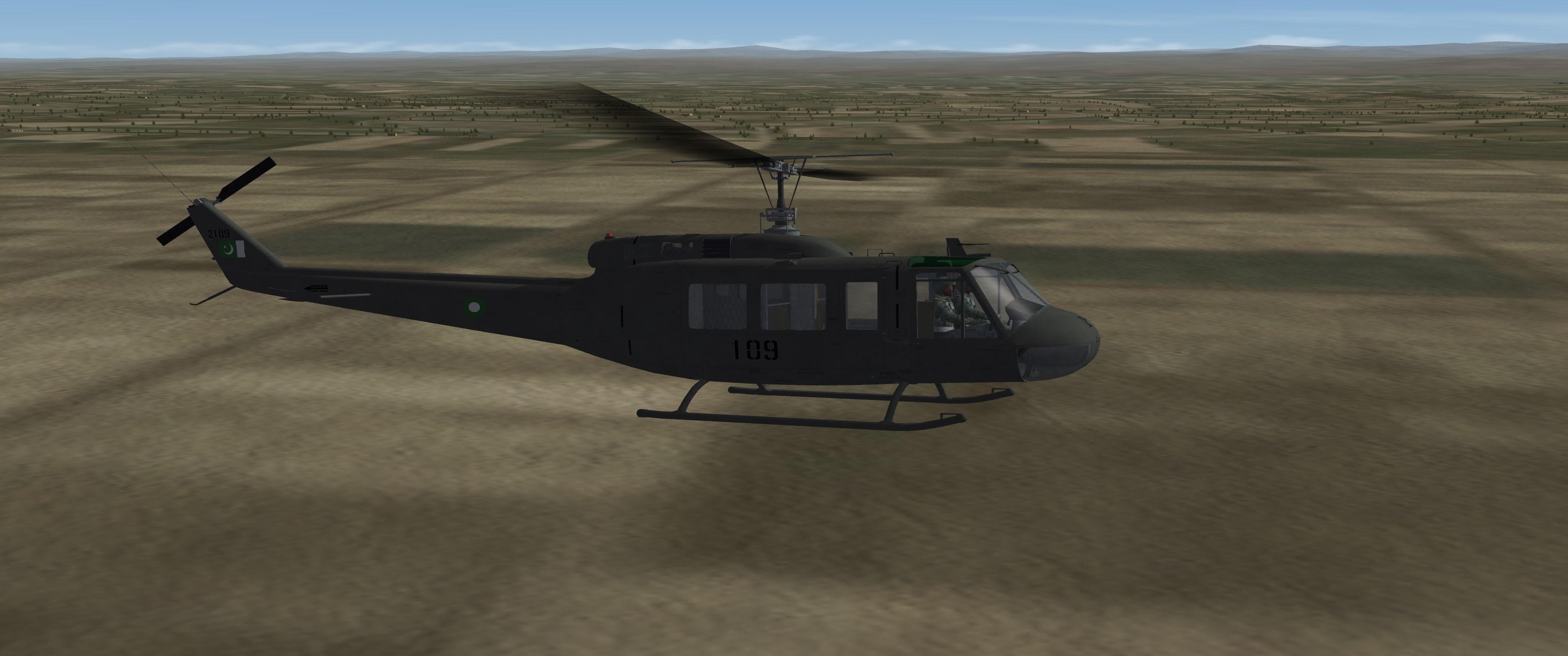 UH-1H IROQUOIS (PAKISTAN)