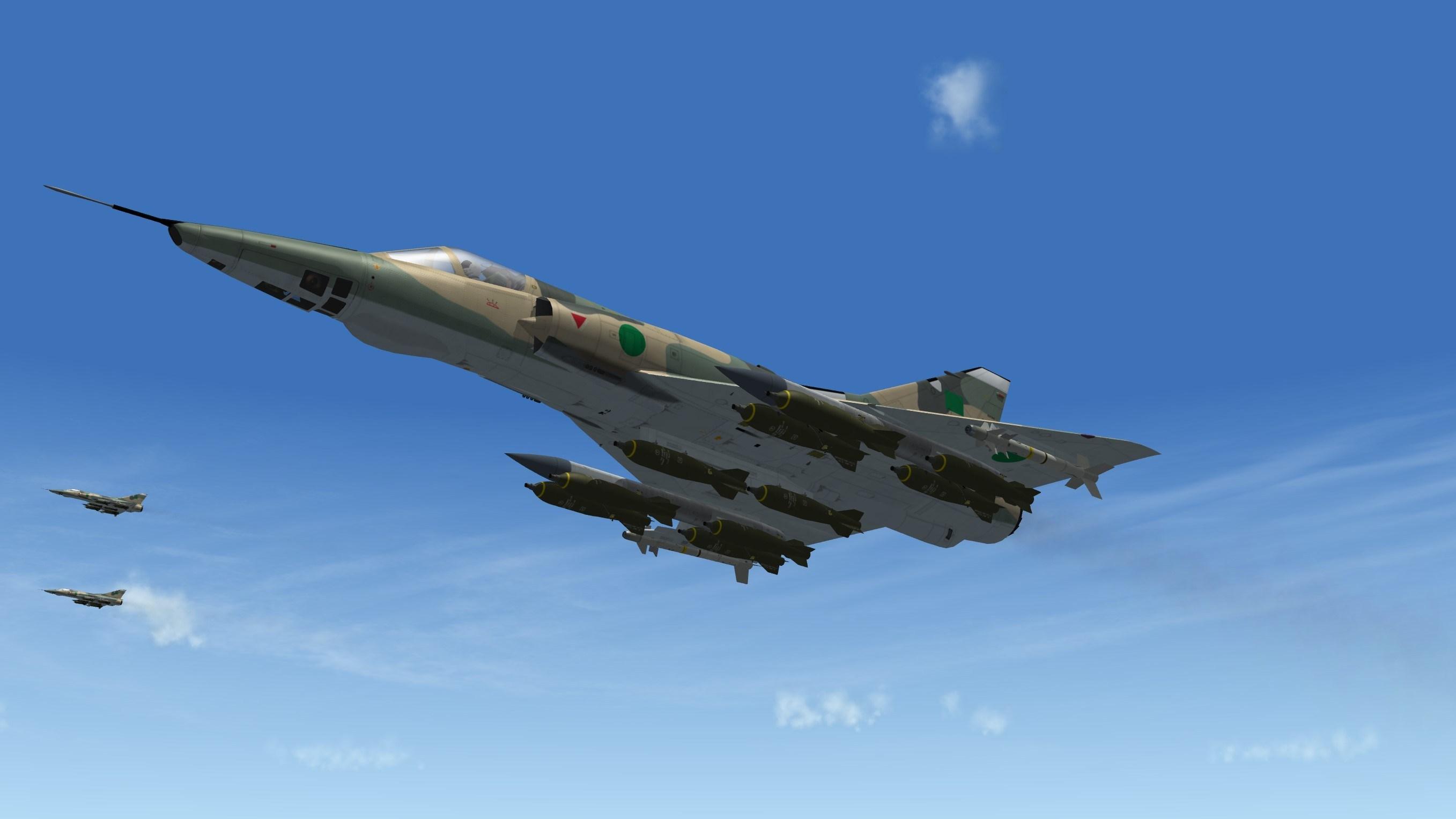 Dassault Mirage 5D/ DD/DE /DR