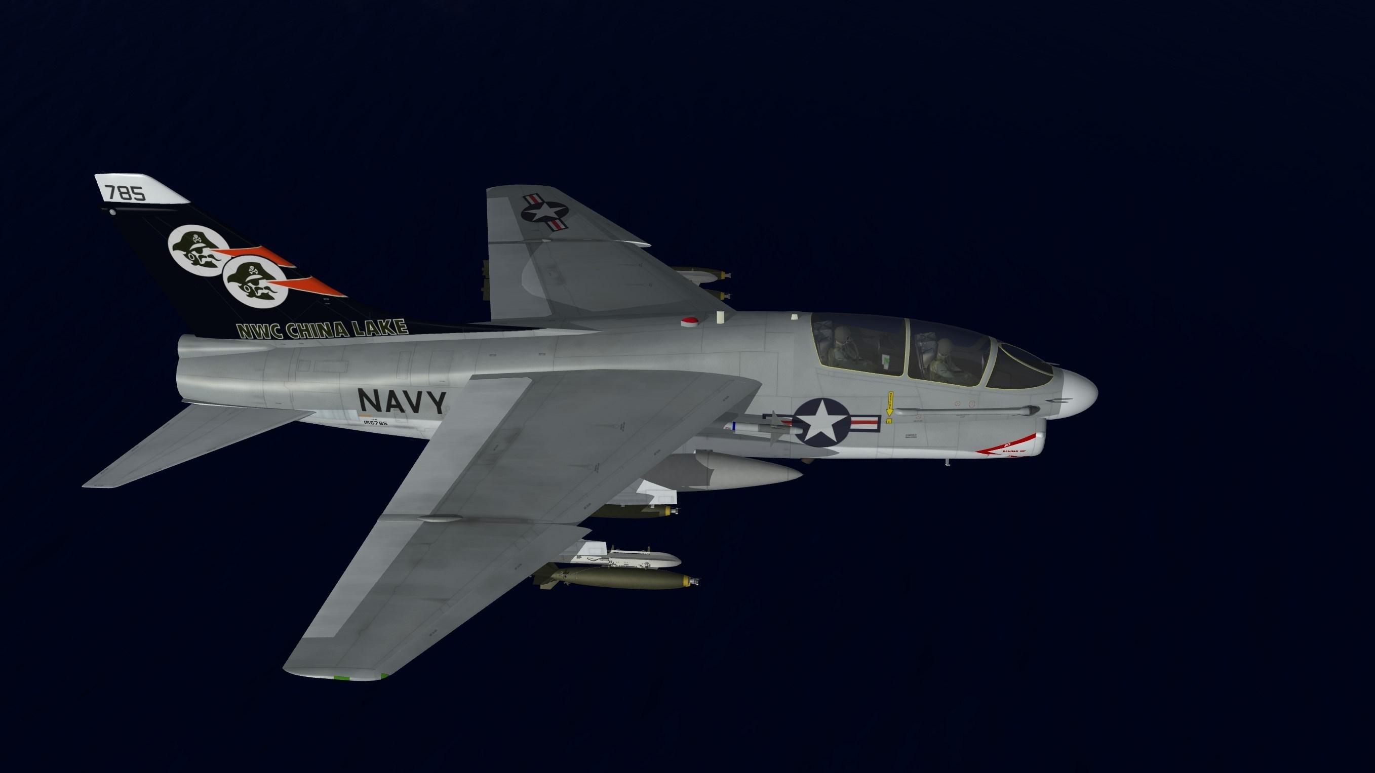 LTV TA-7C Corsair II - The Mirage Factory