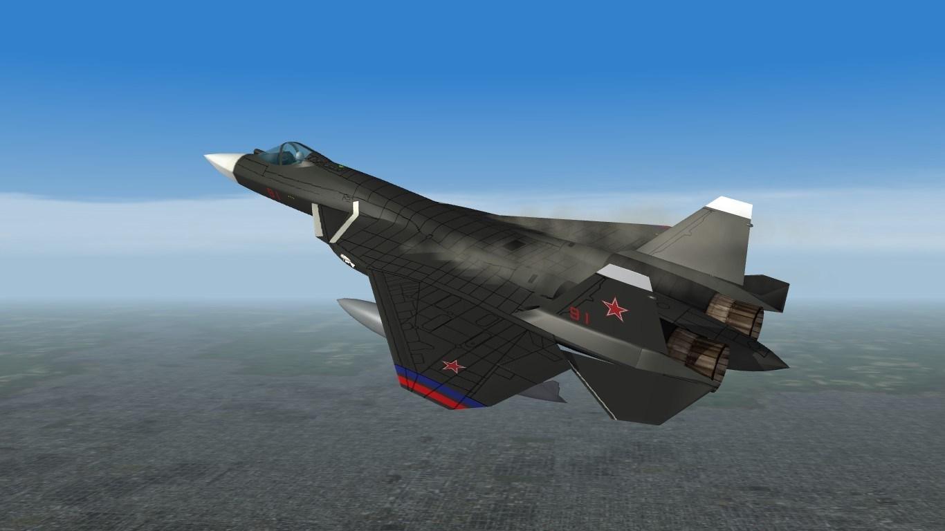 Sukhoi Su-57 (Dark)