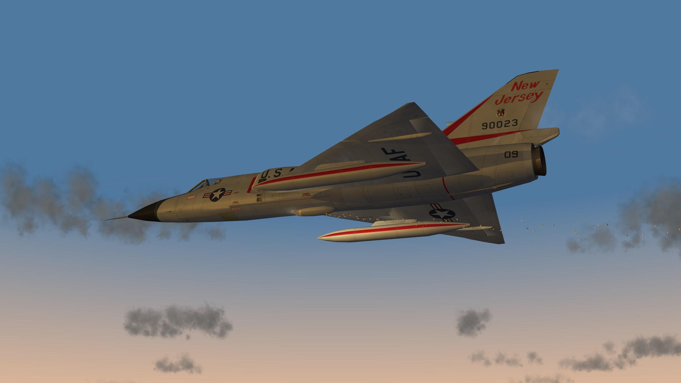 Convair F-106 Delta Dart pack upgrade