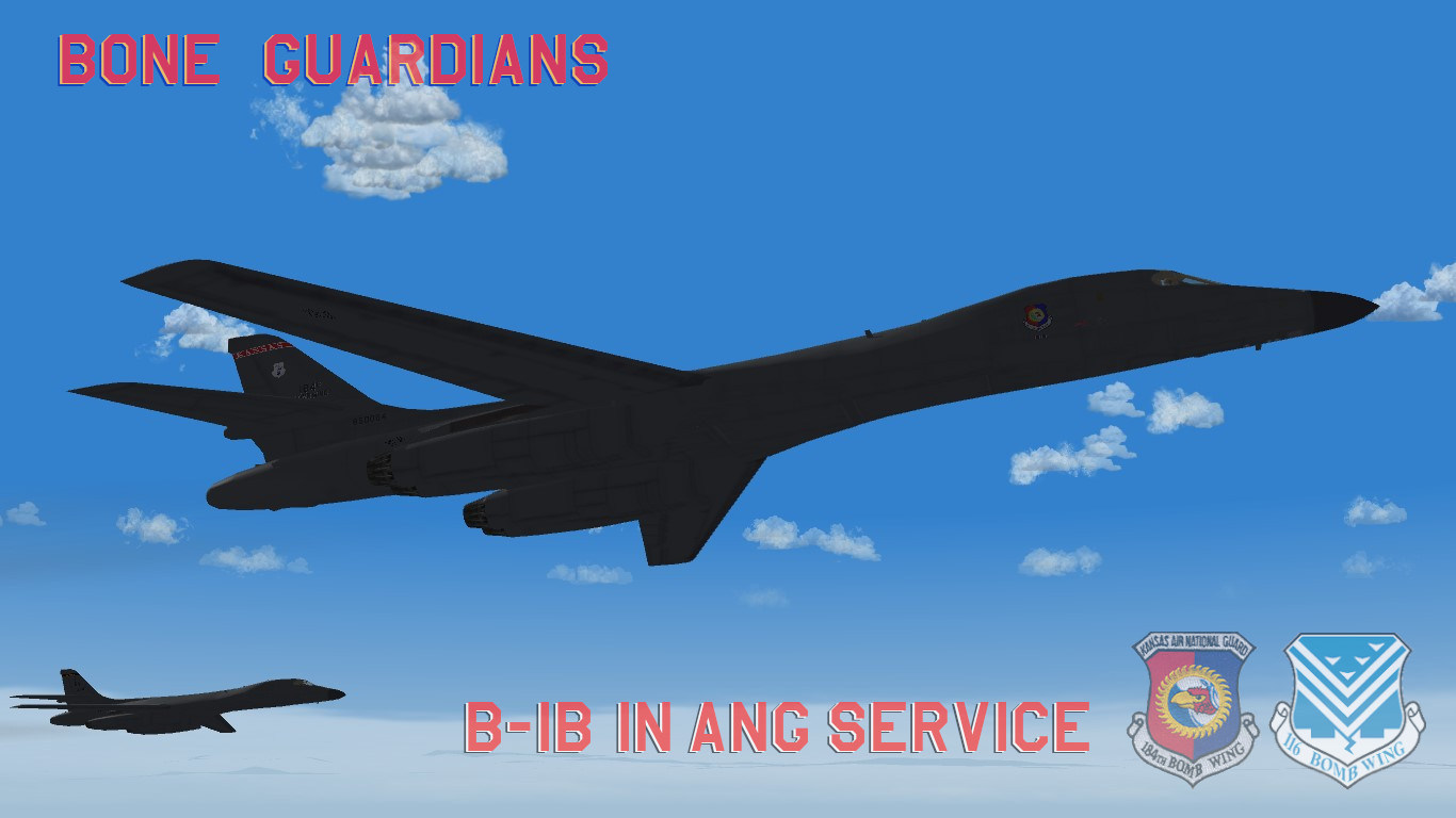 Bone Guardians: B-1B in ANG Service