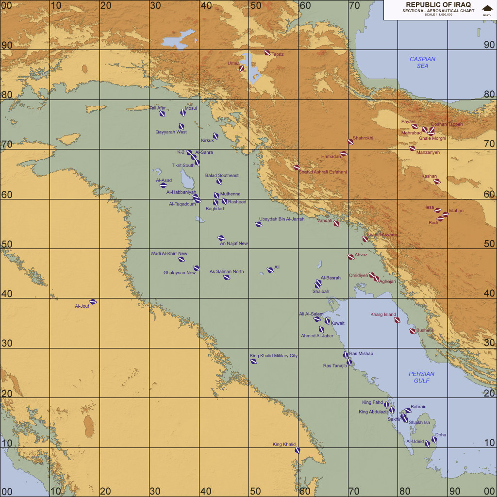 Iraq, Western Asia (2003-2018)