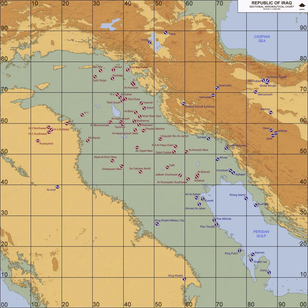Iraq, Western Asia (1980-2003)