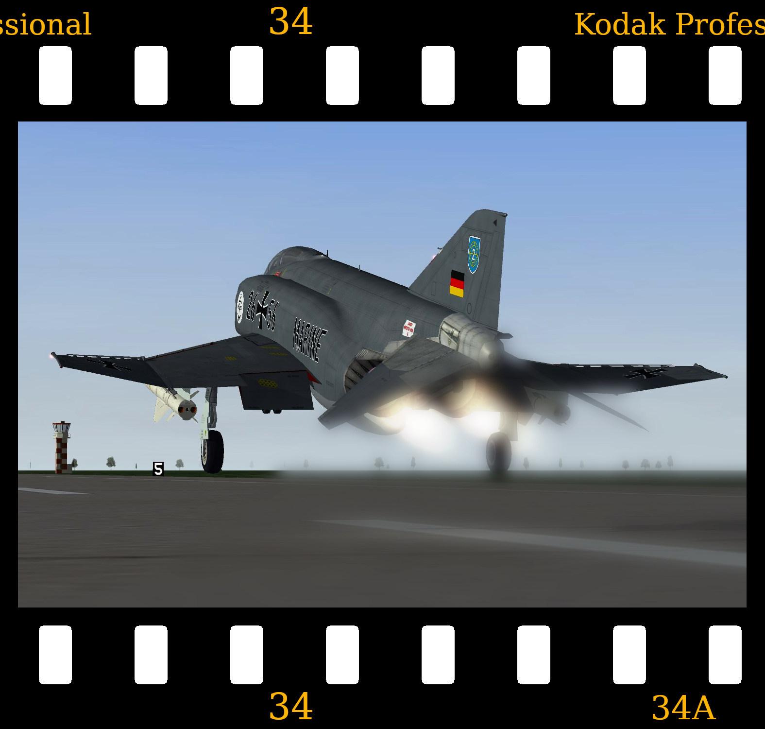 [Fictional] McDonnell Douglas F-4F 'Marineflieger'