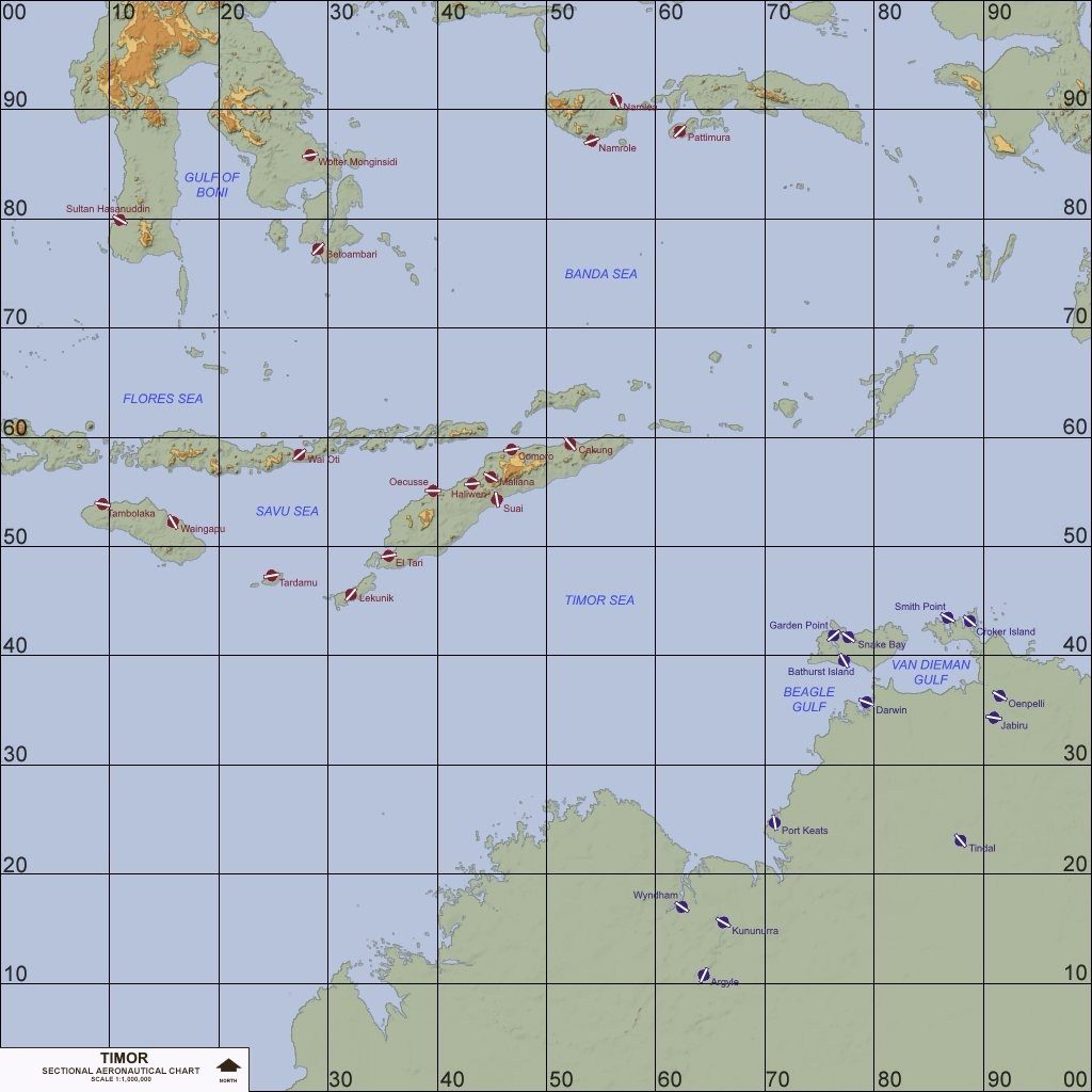 Timor, North Oceania (1950-2018)