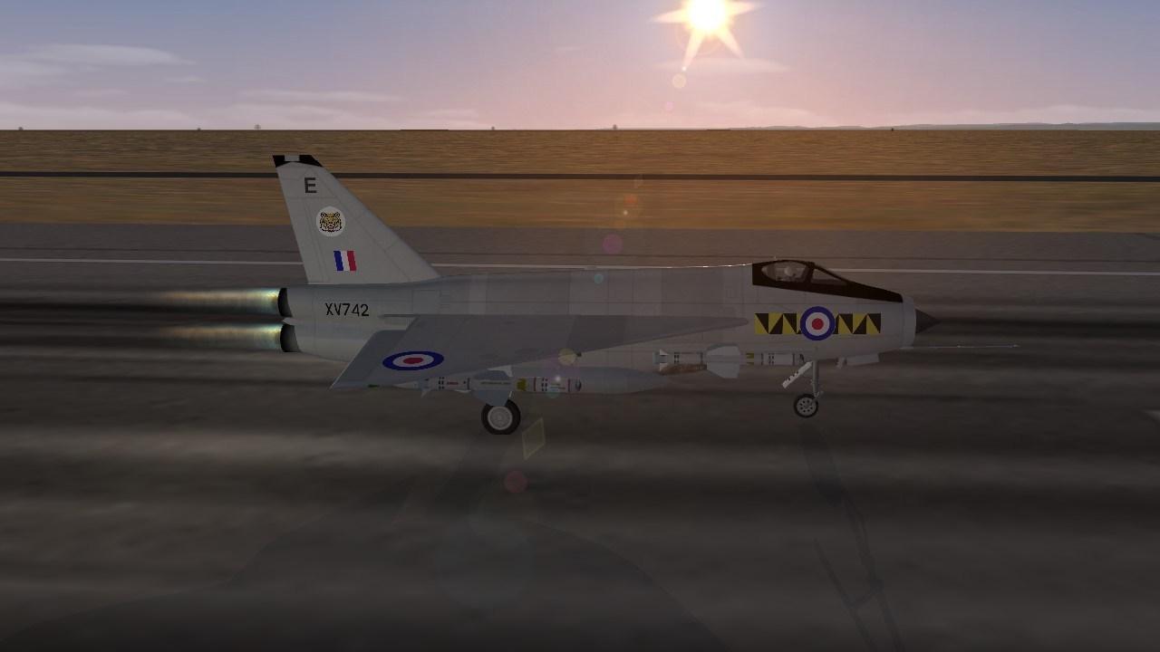 CAF EE Thunderbolt F1A