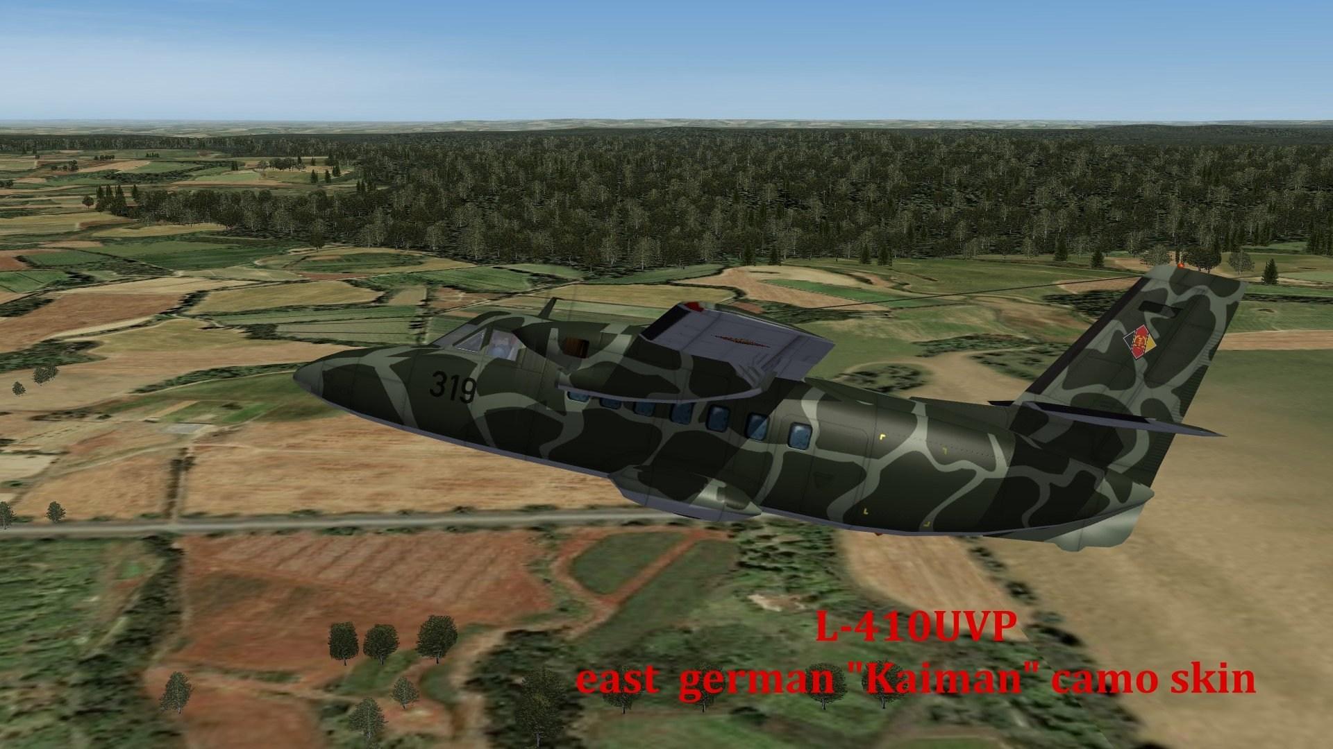 L-410UVP Kaiman camo skin