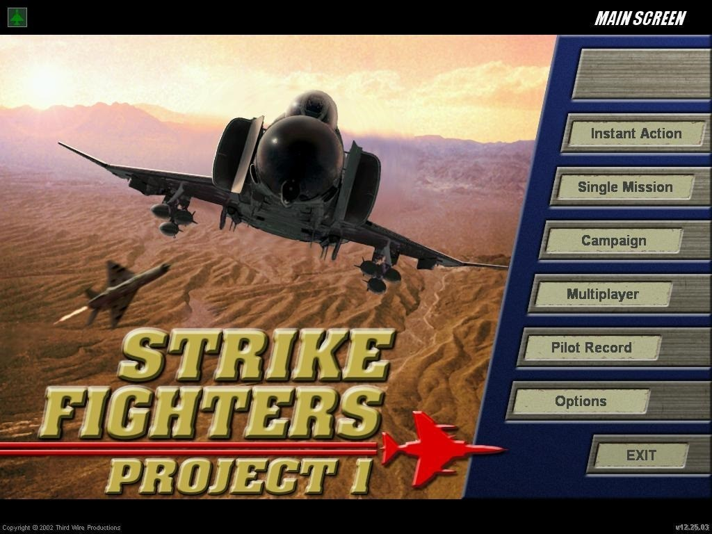Strike Fighters Project 1 Add-on Menu Music Pack for Strike Fighters 2
