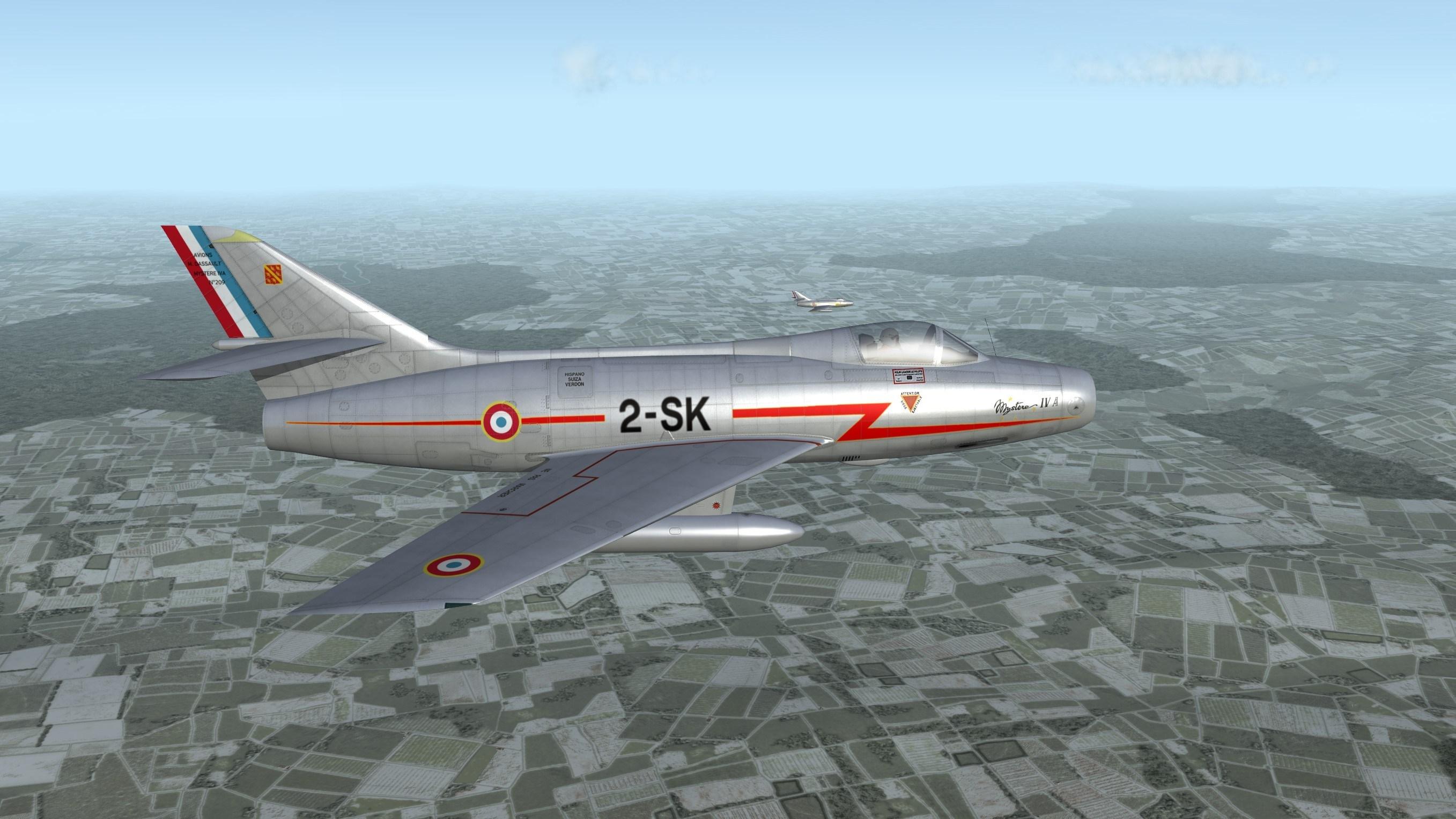 Dassault Mystère IVA