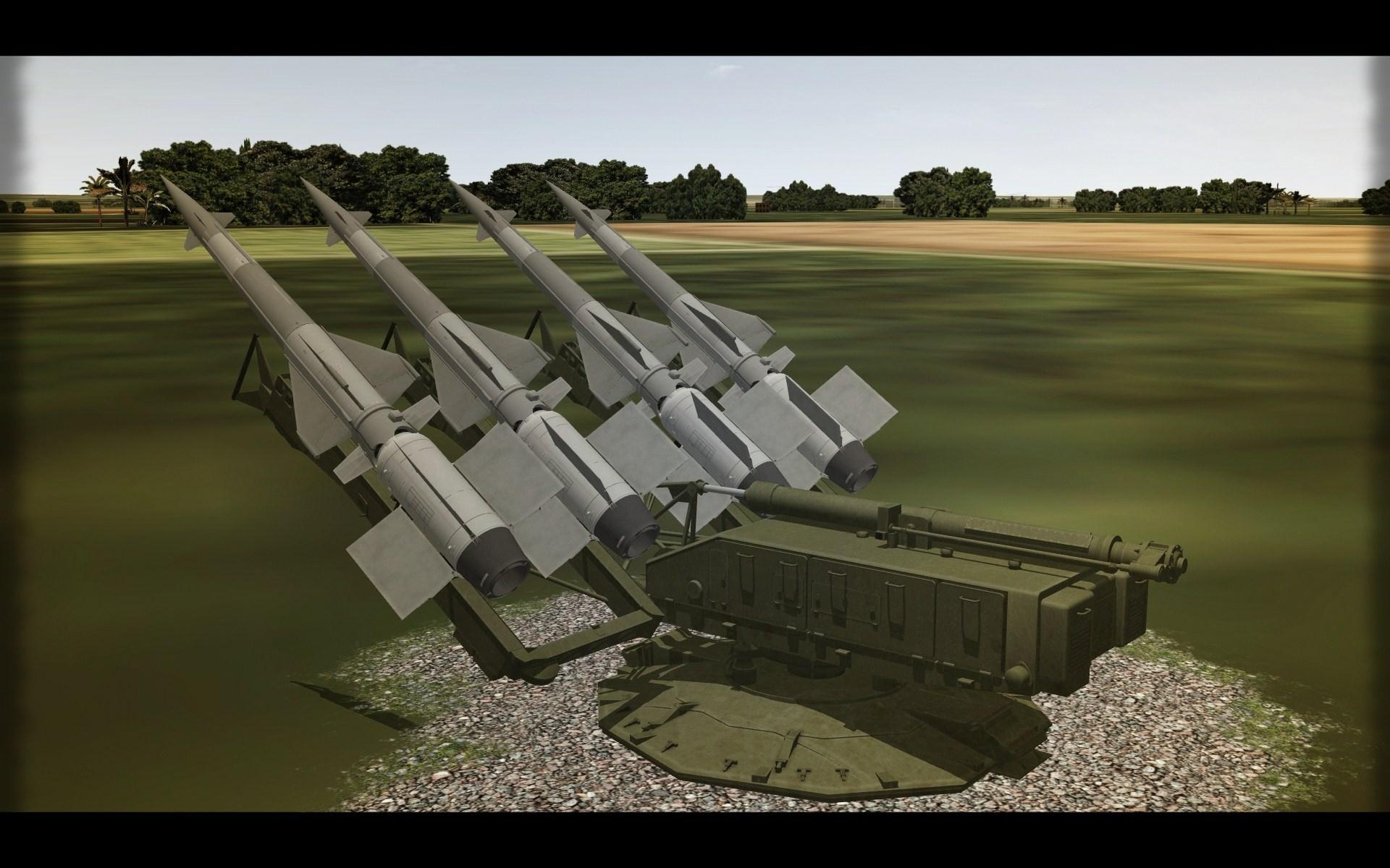 S-125 Neva. 5P71 & 5P73 Launchers.