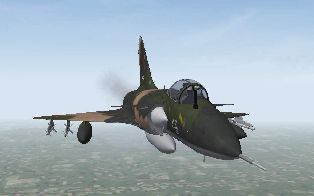 WOE Mirage 4000 BA & BB - Belgian Air Force