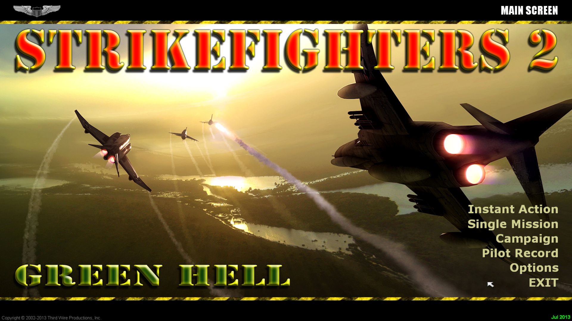 StrikeFighters2 Vietnam Hi-Res 1920x1080 Menu Screens and Music!