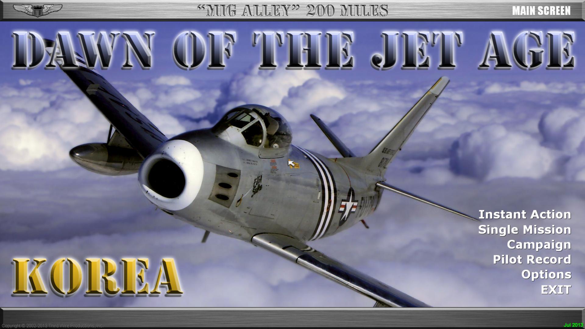 "SF2 ""MiG Alley"" Wings Over Korea (KAW v1.1) Hi-Res 1920X1080 Menu Screens and Music!"
