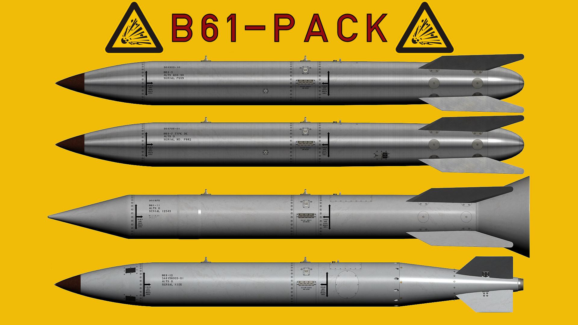 B61 Nuclear Bomb Pack