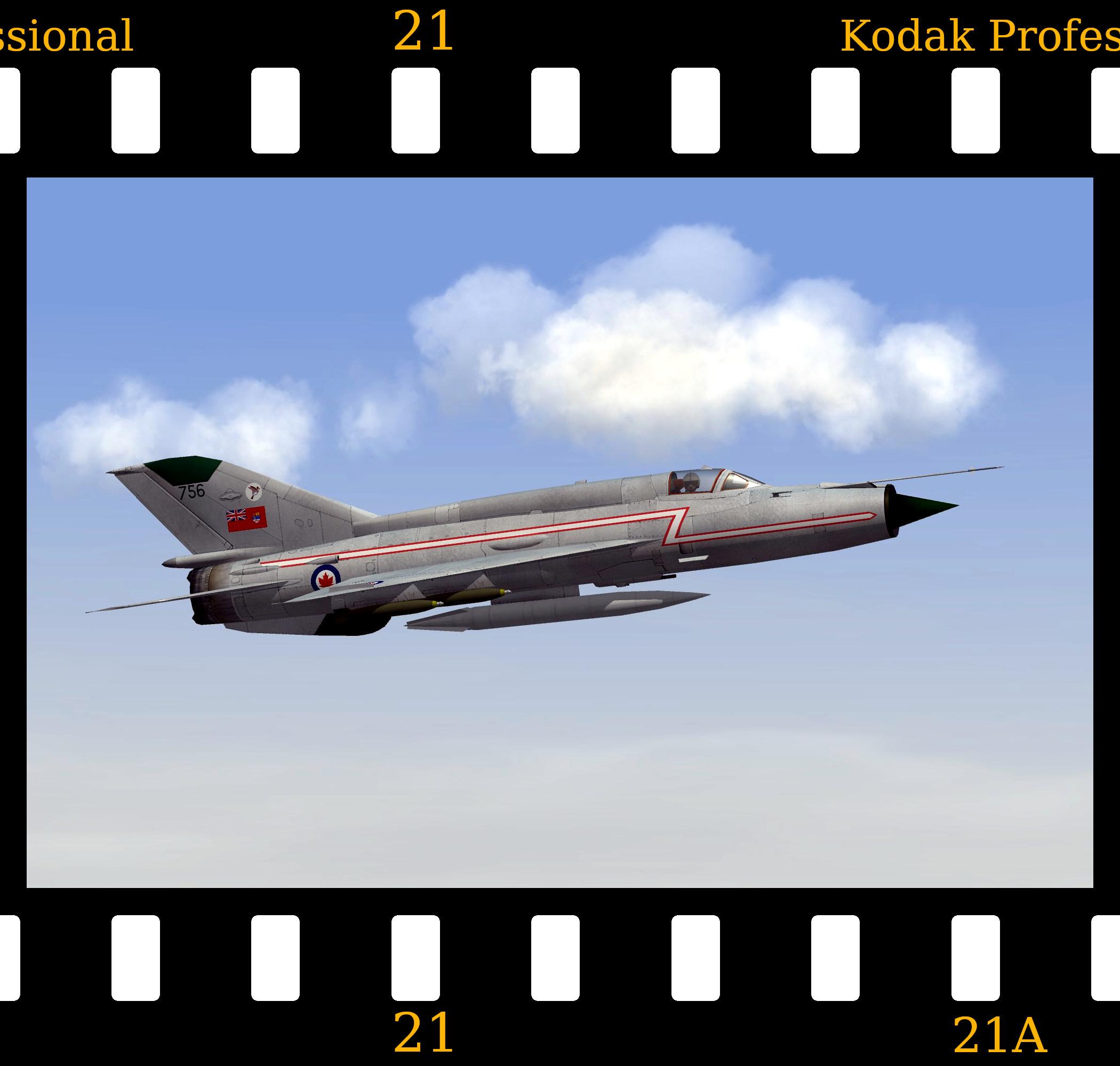 [Fictional] Avro-Mikoyan CF-109 'Archer' (MiG-21SM)