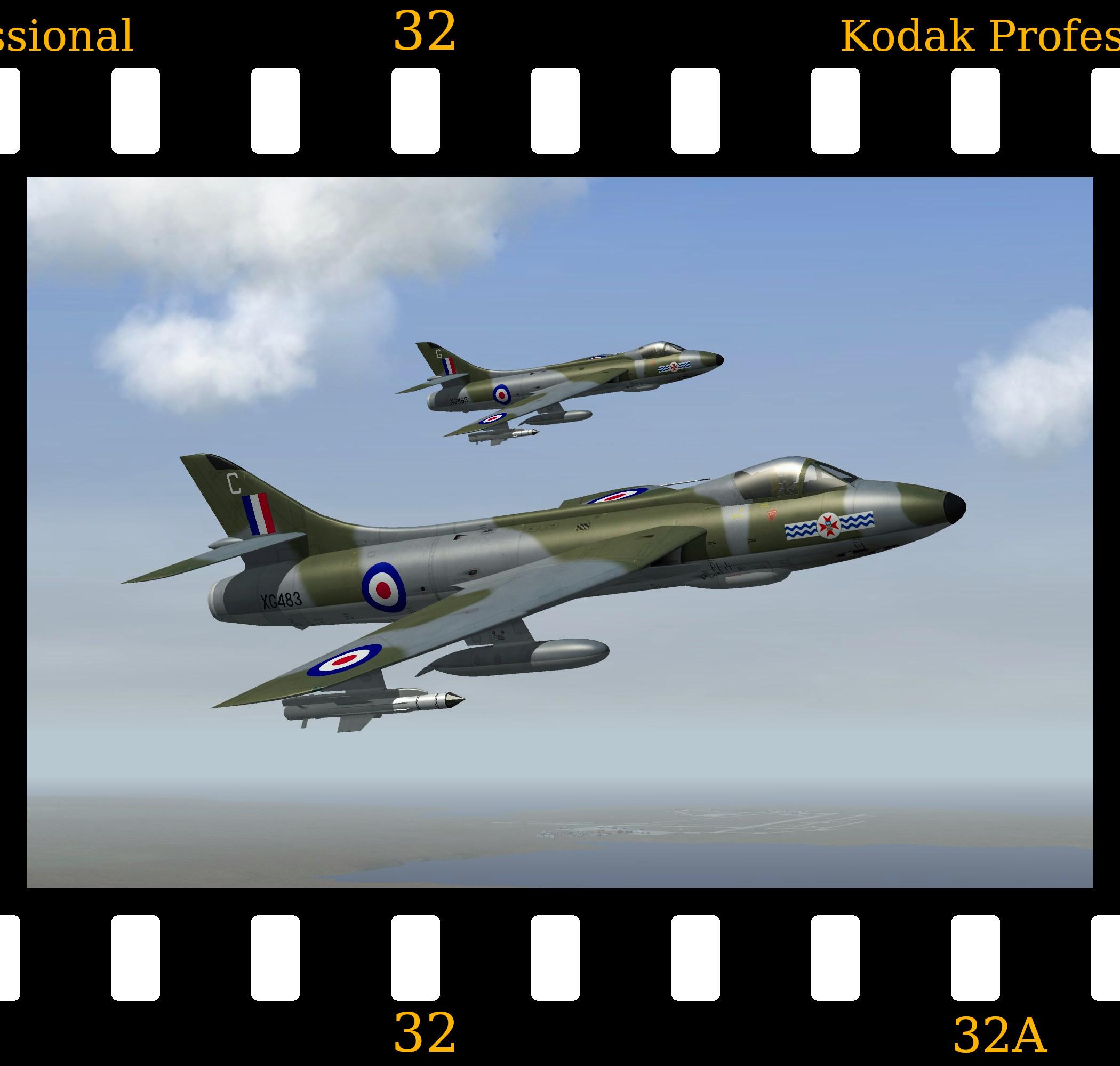 [Fictional] Hawker Hunter F.6M (Falklands)