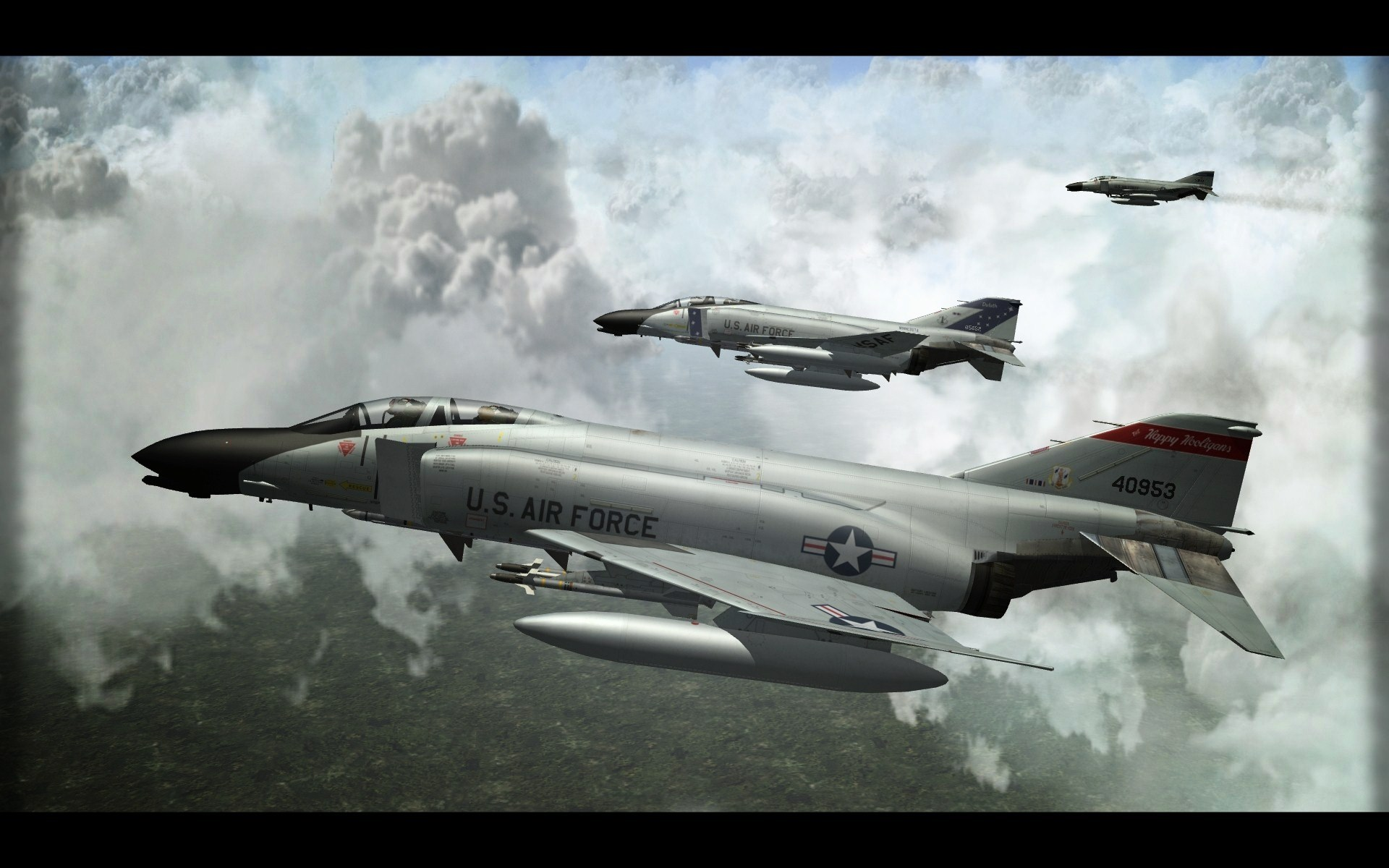F-4D Phantom II in ANG Service.