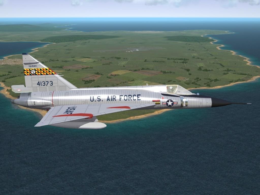 SF2 F-102 (V2K) Delta Dart Hawaii ANG Skin Pack