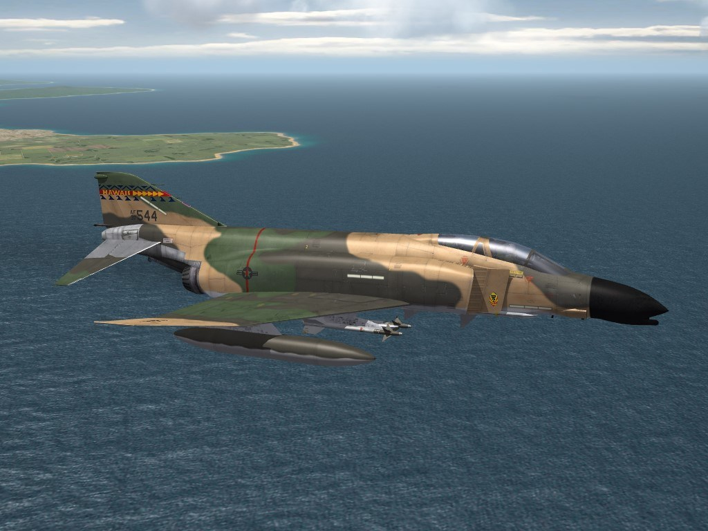 SF2 F-4C-67 Phantom II, Hawaii ANG