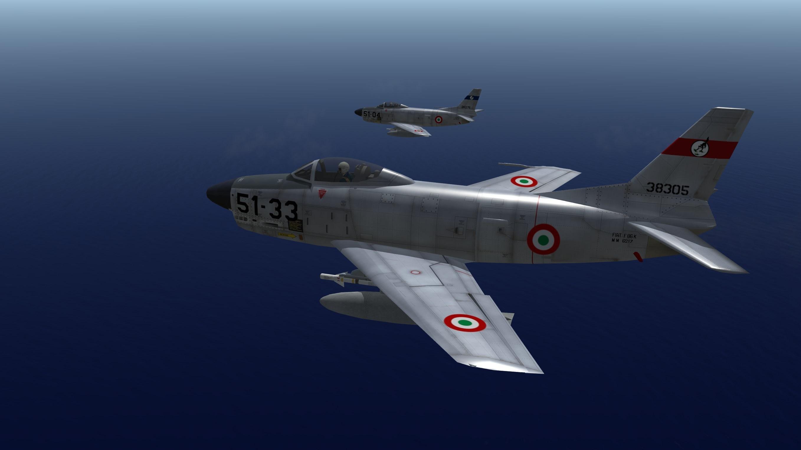 North American F-86K Sabre Complete