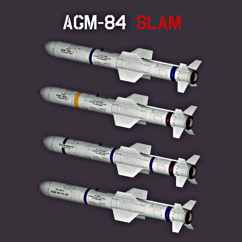 AGM-84 Harpoon Missile Skin Pack
