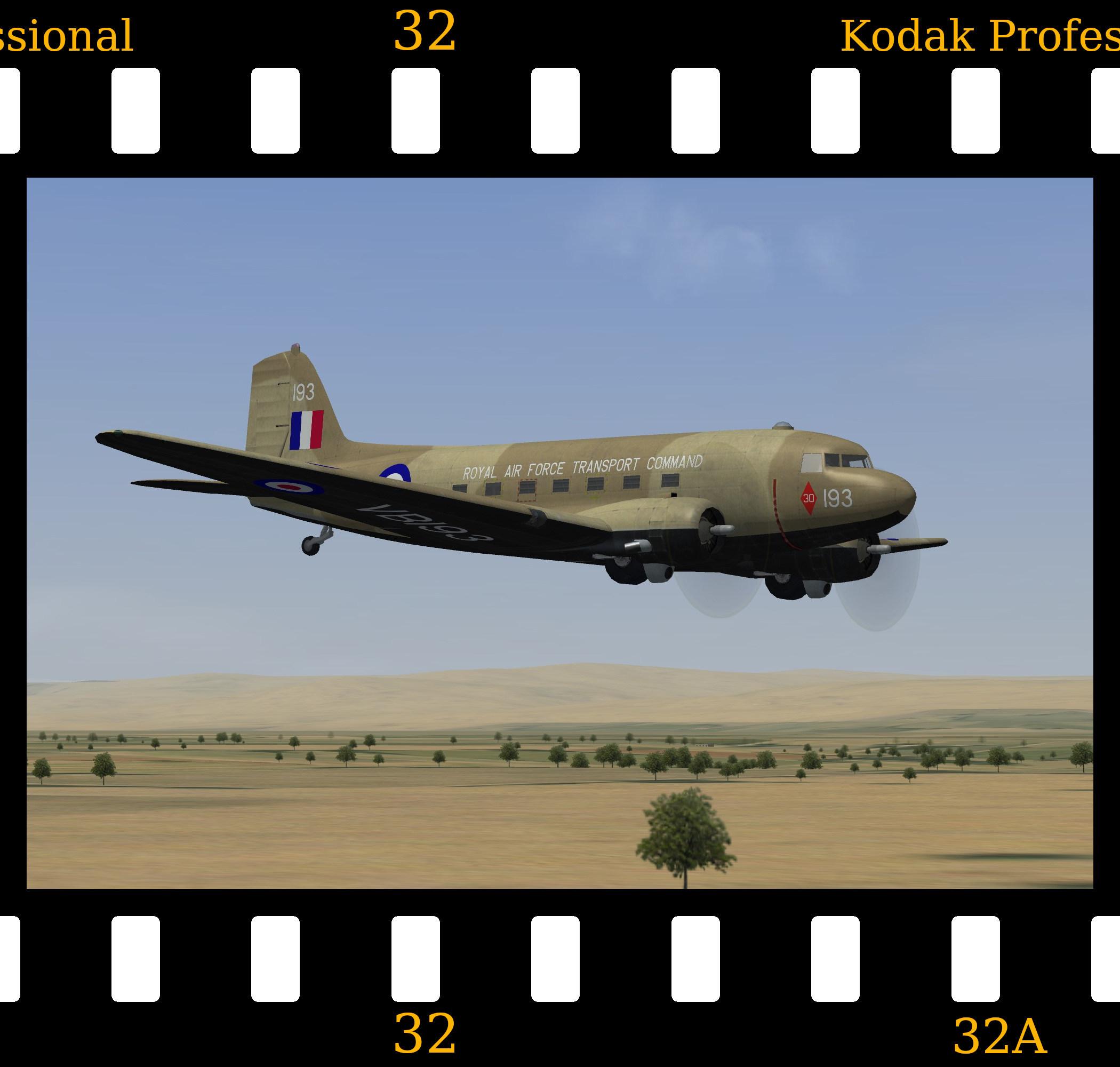[Fictional] Douglas Dakota C.3 - RAF Desert Camo
