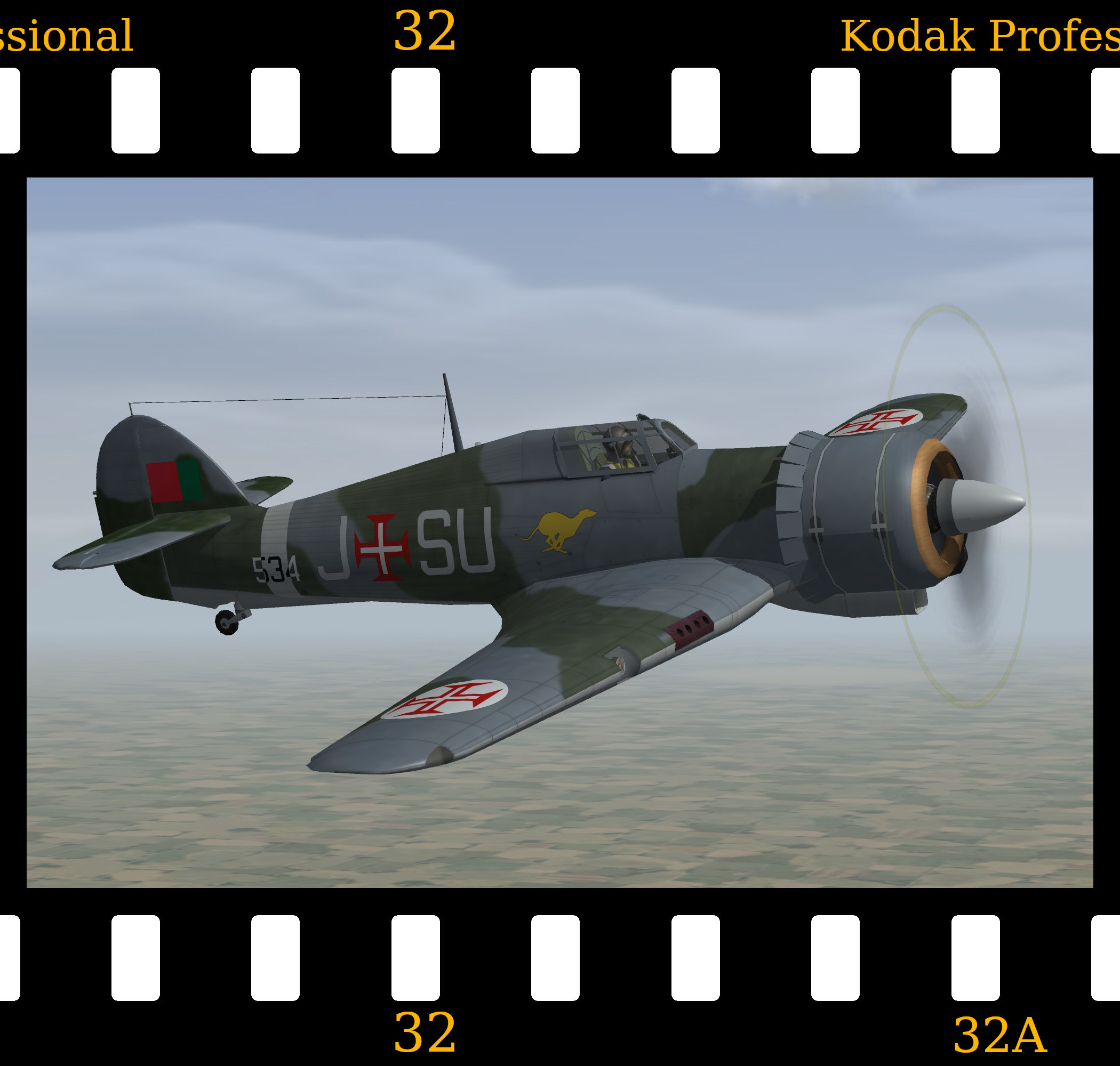 [Fictional] Hawker Hurricane 'Furacão'
