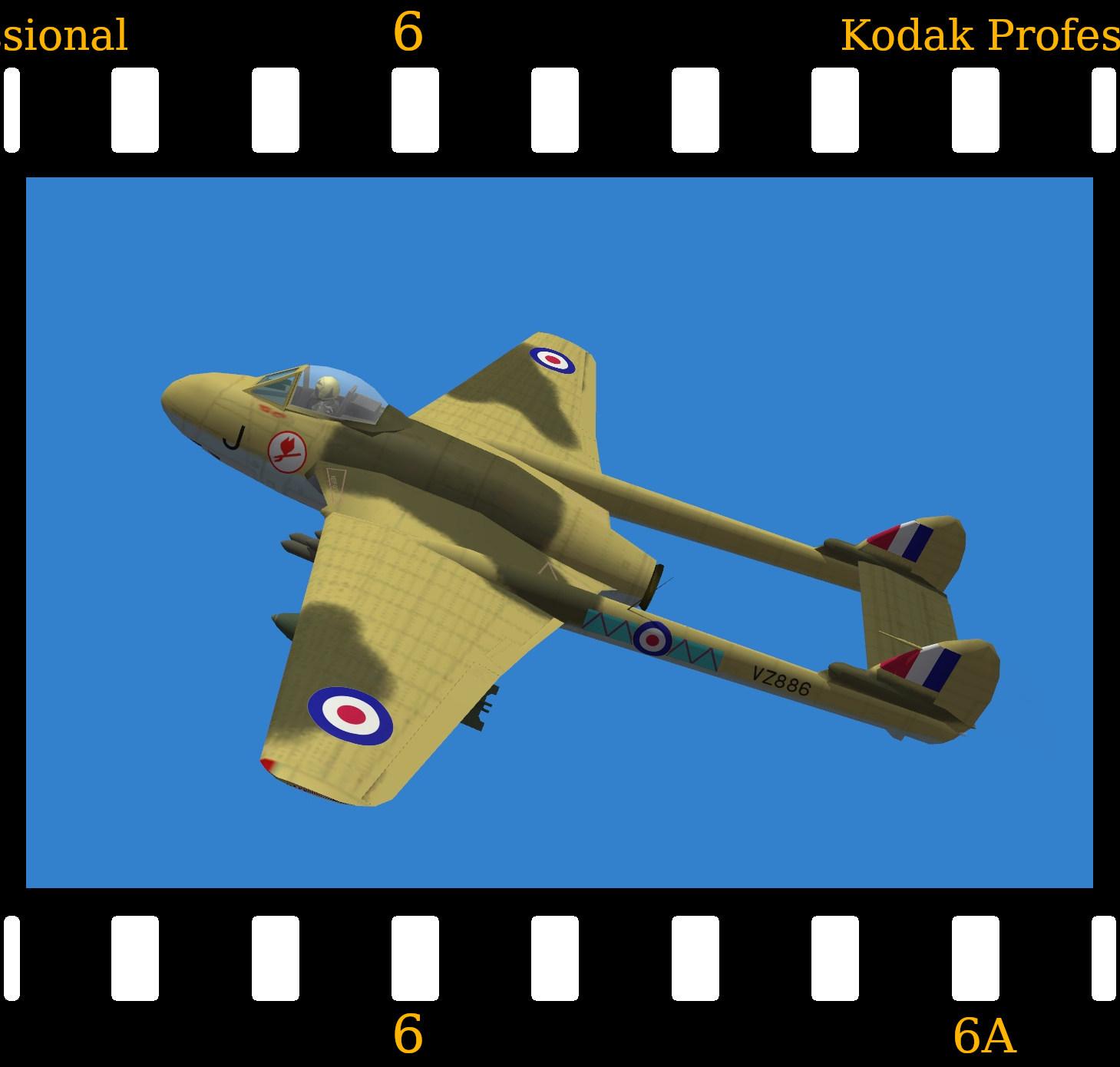 De Havilland Vampire FB.7