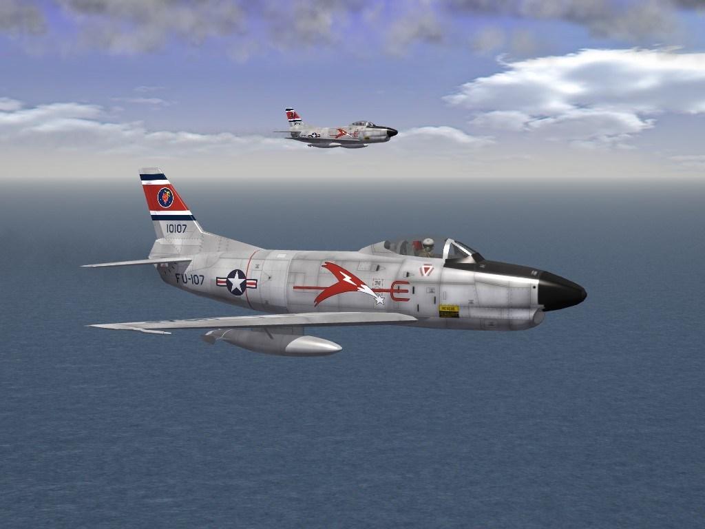 SF2 F-86D Sabre Dog Revamp Pack