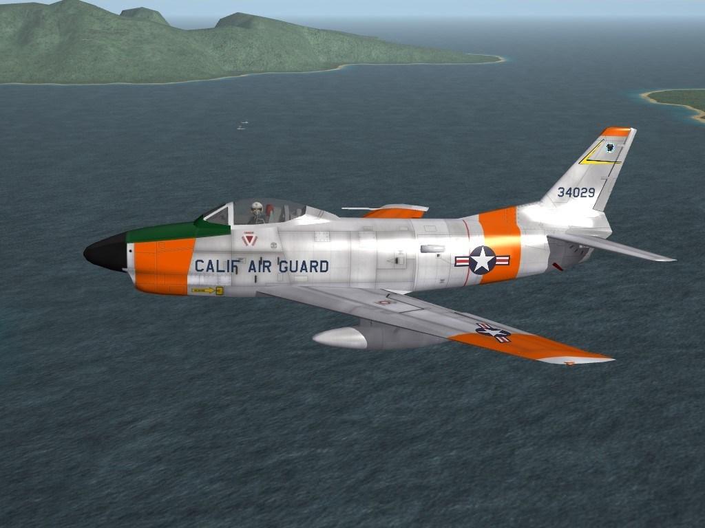 """SF2 F-86L """"Lima"""" Sabre Dog Revamp Pack"""