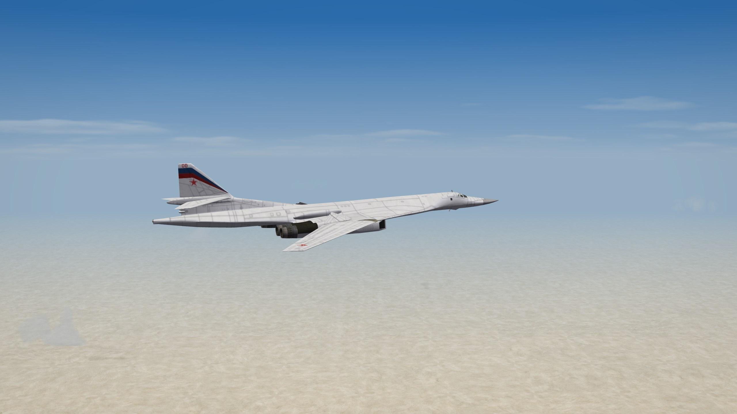 TU-160 Blackjack  - Cold War version for SF2 1.0.0 by UllyB