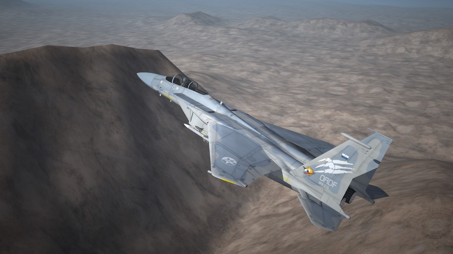 "ACE7 ""STRIDER1"" ,124th TFS Skin for F-15C"