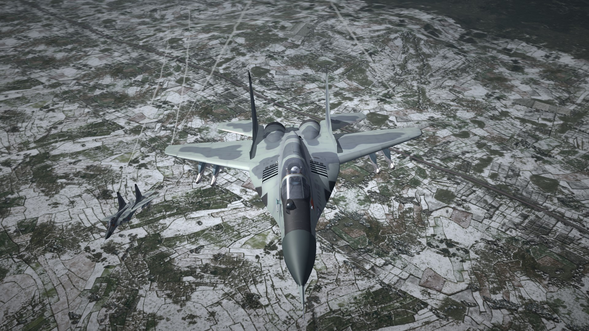 NKorea People's Air Force New Skin for MIG-29S(By TMF)