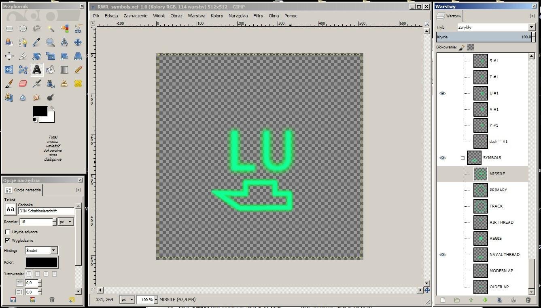 RWR symbols creator