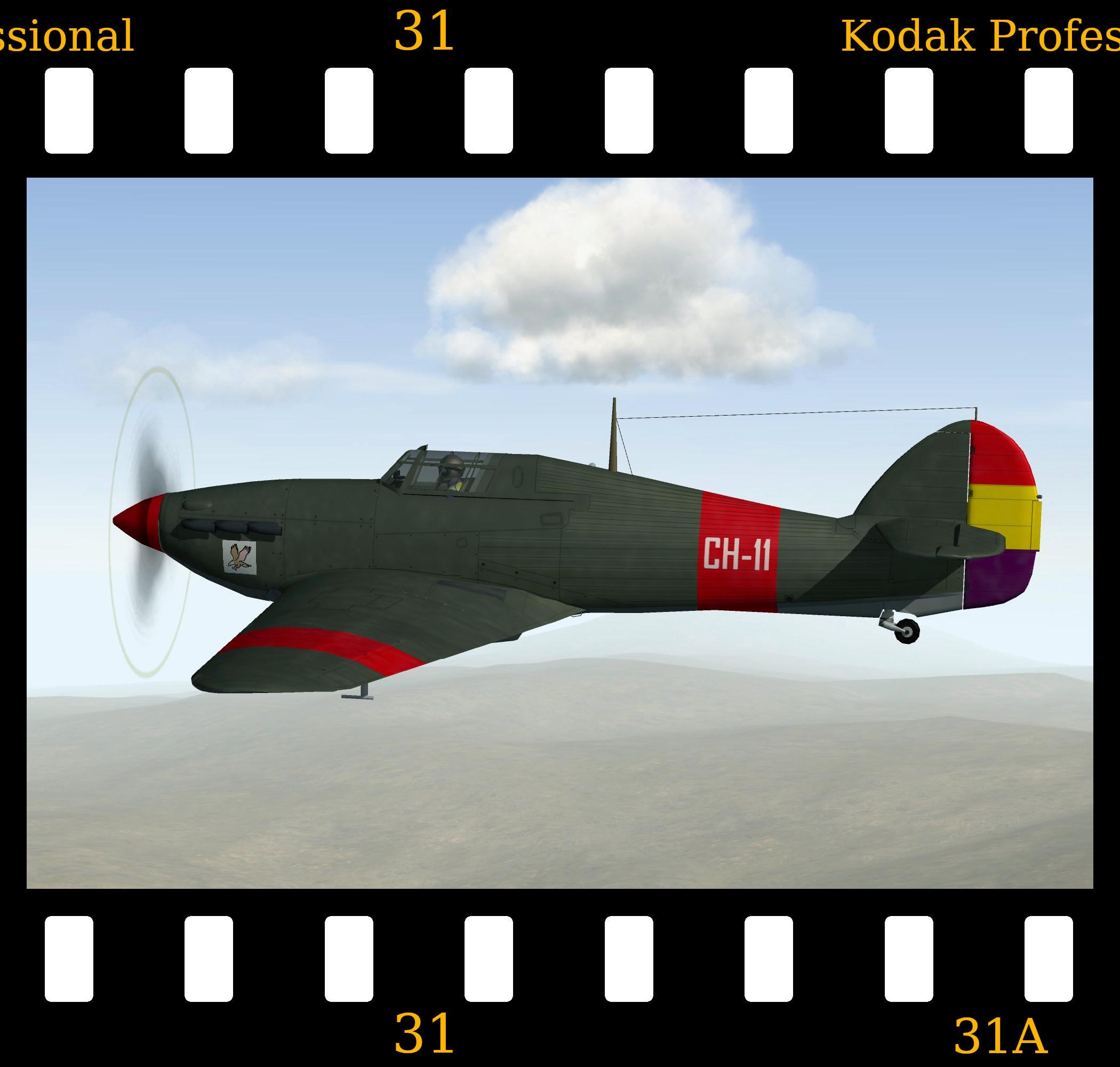 [Fictional] Hawker Hurricane Mk.1 'Yankee Squadron'