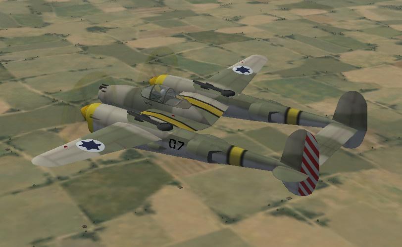 P-38L Operation Kadesh What If WOI/SFP1