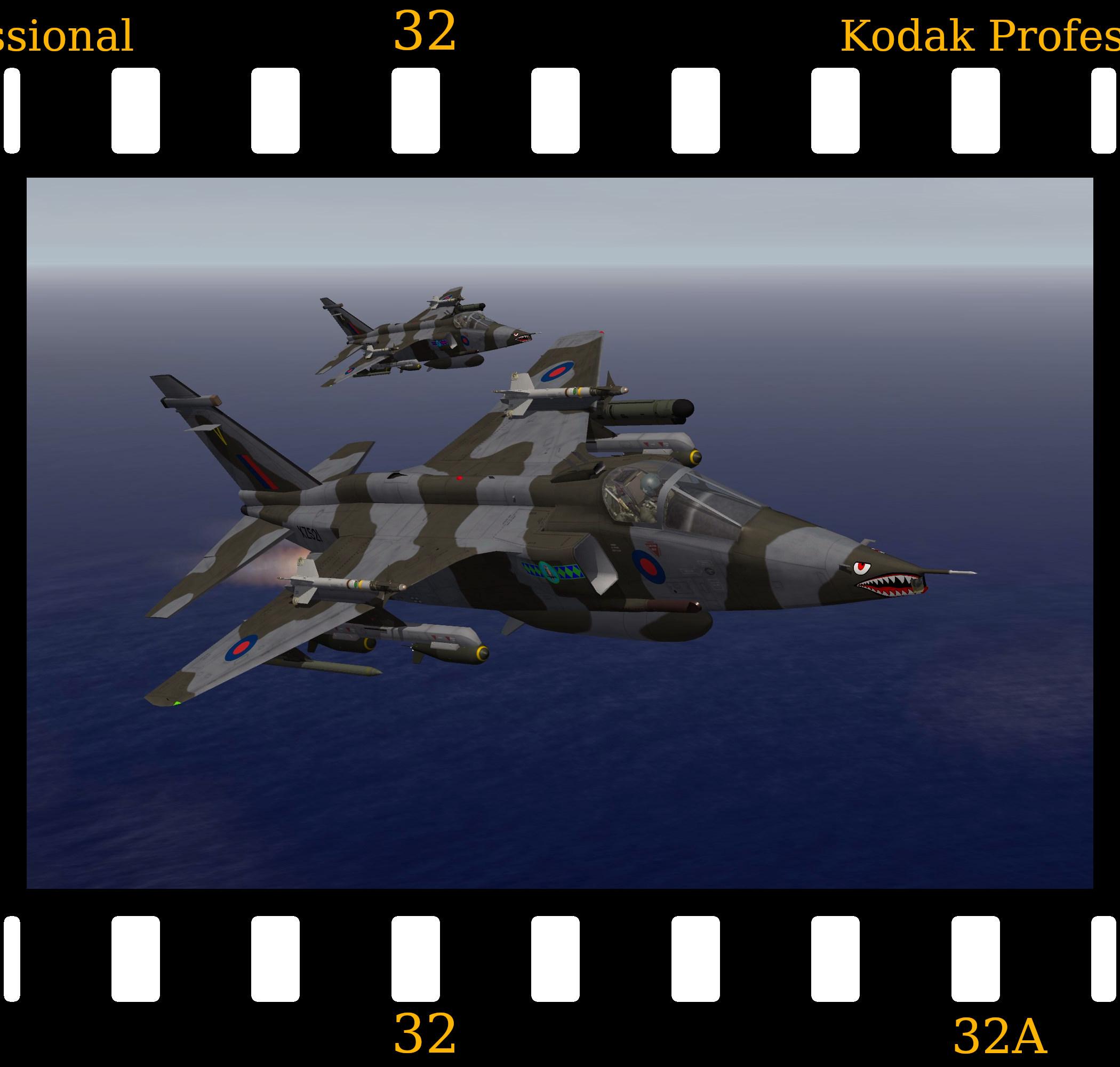 [Fictional] RAF SEPECAT Jaguar FGR.3
