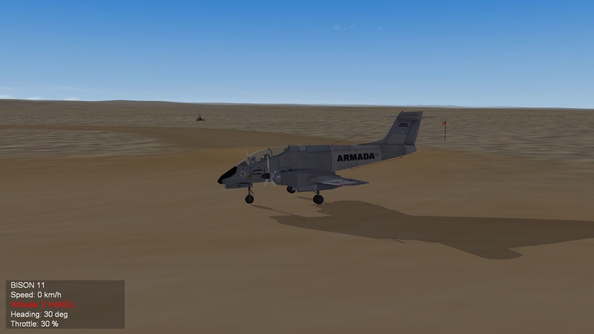 FMA IA-58 Pucara Armada Argentina (Fictional)