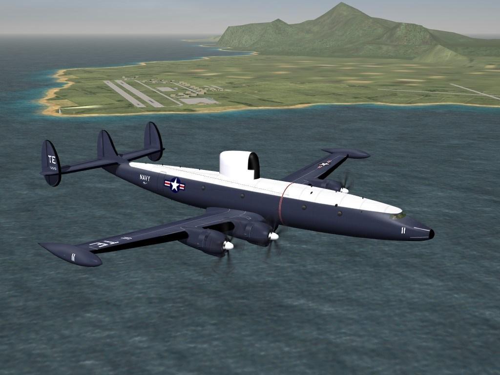 SF2 Lockheed WV-2/EC-121K Pack by RussoUK