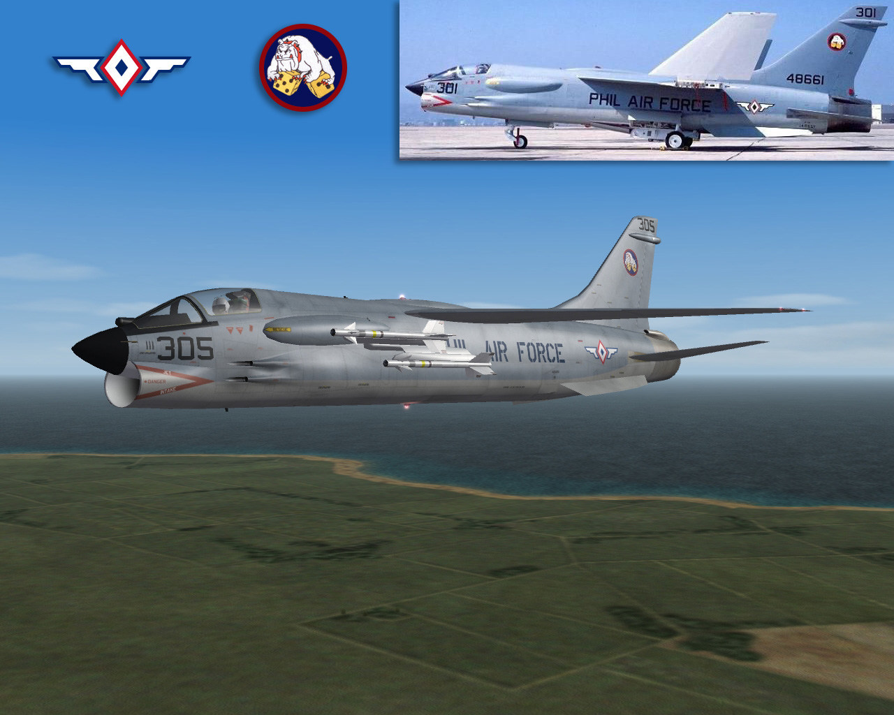 F-8H Phil Air Force skin